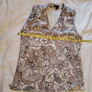 Ann Taylor Factory flower print top